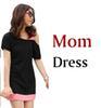 Mama Kleid schwarz