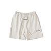 Shorts cinzentos claros