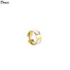 18K Gold Plated white