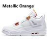 12 metallica arancione