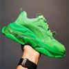 B5 sola clara de néon verde 36-45