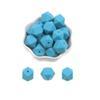 100pcs O azul do Aqua