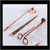 Oro de rosa (conjunto de tres piezas)