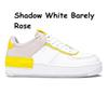 D18 36-40 Shadow White Barely Rose