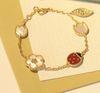 Ladybug3 bilezik-altın