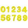 숫자 0-9 옐로우