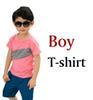 Junge T-Shirt Rosa