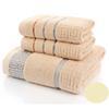 3 asciugamani di colore del caffè