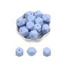 100pcs azul Pastel