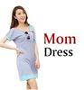 Mama Kleid grau