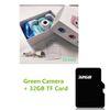 32 ГБ Зеленая камера
