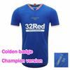 Campeões dos Rangers 55 camisetas azuis