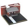 Sensoji Temple-80x80x45mm