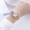 Rosegold 로마 숫자 다이아몬드