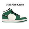 Milieu de pin vert