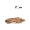 Dunkler nackt 10 cm Ferse