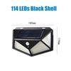 114 leds shell negro