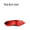 Rot 8 cm Ferse