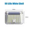 90 leds shell blanco