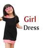 Mädchen Kleid schwarz