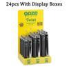 ooze 배터리 (24pcs가있는 디스플레이)
