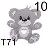71 cinza geleira