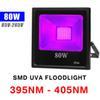 80W UV (395NM-405NM) 85V-265V Floodlight