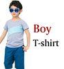 Junge T-Shirt grau