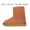 Caviglia Bailey due bow-kaki