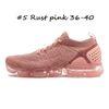 # 5 녹 핑크 36-40.