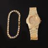 Gold Watch Braclt