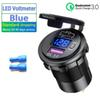 Voltmeter-blue