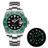 Steel Black Green
