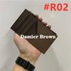 # R02 Damier Brown