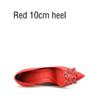 Roter 10 cm Ferse