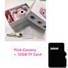 32 ГБ розовая камера
