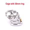 Gabbia con anello 36mm