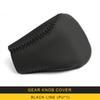 Gear Knob Cover-Black Line