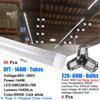 96PCS 144W 8FT LED TUBE+4PCS 60W BULB