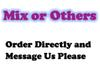Mix oder andere (Bemerkung bitte)