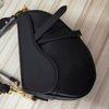 Dark Black leather