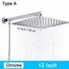 Type A - Chrome 12 pouces