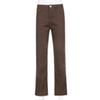 Calça jeans marrom