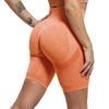Kurze Legging-Orange.