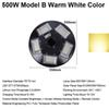 500W Model B Warm White Color
