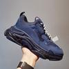B8 Clear Sole Navy 36-45
