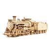 Trem de vapor de luxo