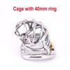 Gabbia con anello da 40mm