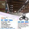 100PCS 100W 8FT LED TUBE+ 4PCS 60W BULB