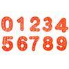 숫자 0-9 오렌지